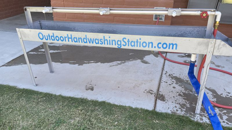 The plan is to get more hands washed in less time.