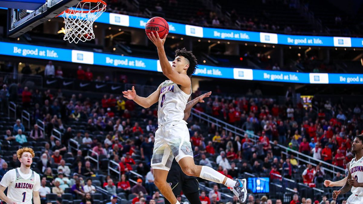 Josh Green scored 19 points as Arizona opened the Pac-12 tournament with a 77-70 win over...