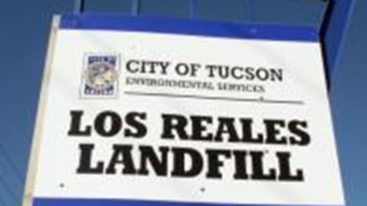 Los Reales landfill (Source: City of Tucson)