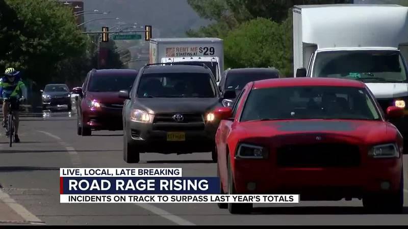 Road rage rising