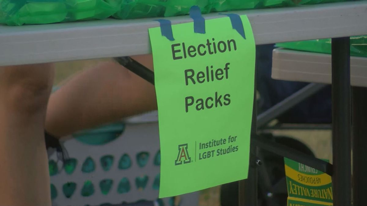 Institute for LGBT Studies at UArizona hands out Election Relief Packs