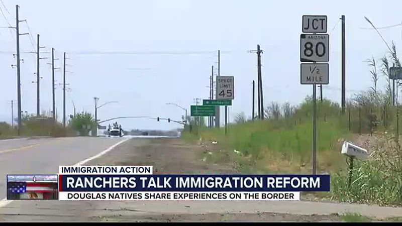 Douglas ranchers share experience living along the southern border