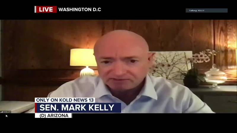 Interview: Sen. Mark Kelly on busy first week