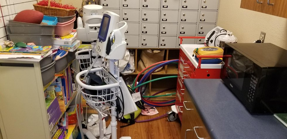A whistleblower said a cart used during emergencies at Sonora Behavioral Health Hospital was...