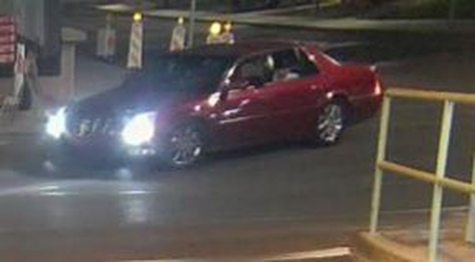The Tucson Police Department this vehicle, a maroon 2006-11 Cadillac DTS, was involved in the...