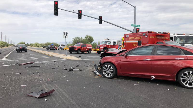 Police are asking anyone who witnessed the crash at the intersection of La Cañada Drive and...