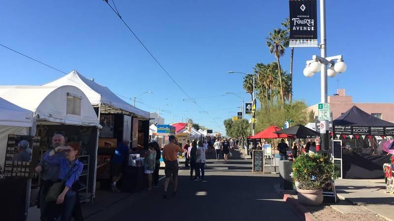 4th Avenue Street Fair (Source: Tucson News Now)