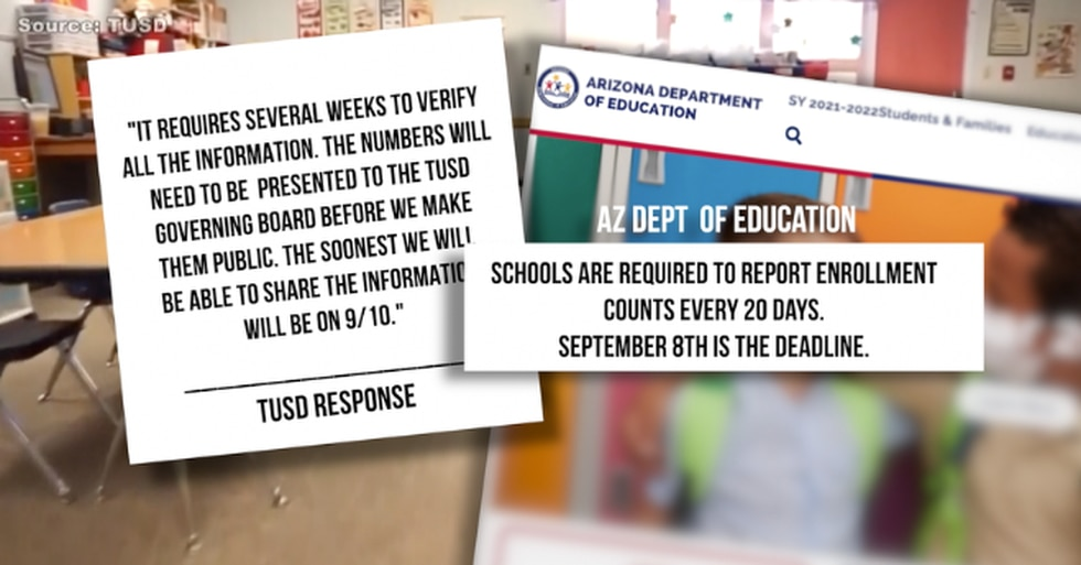 TUSD has not released enrollment count yet