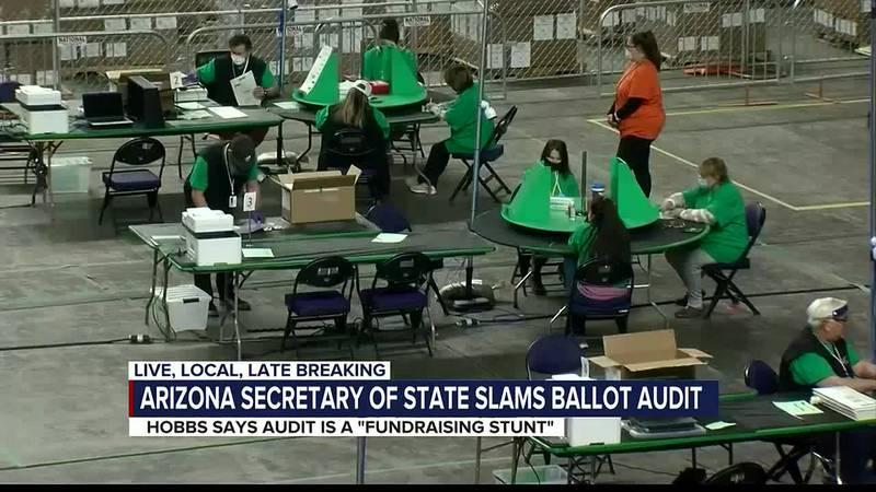 Maricopa County ballot audit latest