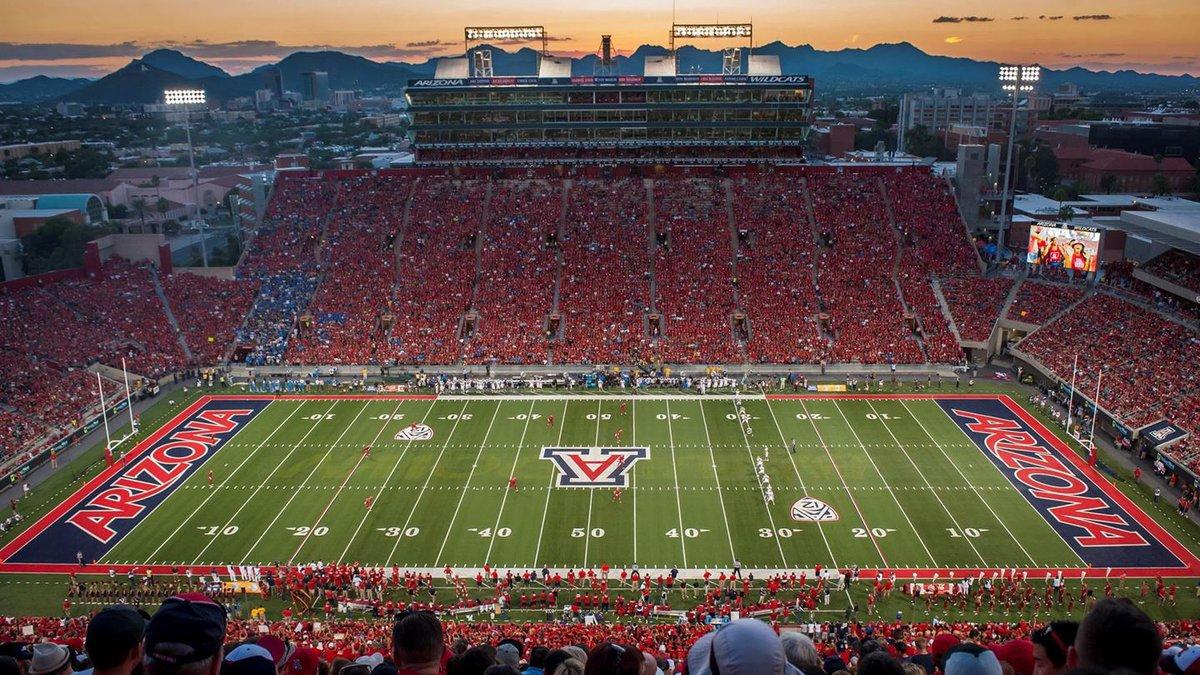 Arizona Stadium on the campus of the University of Arizona will host the Barstool Sports...