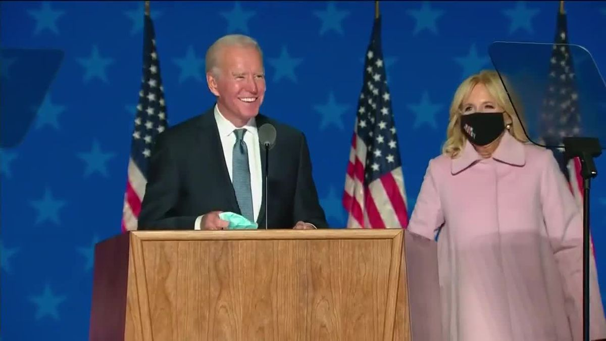 LIVE: Biden speaks as vote count continues - VOD - clipped version