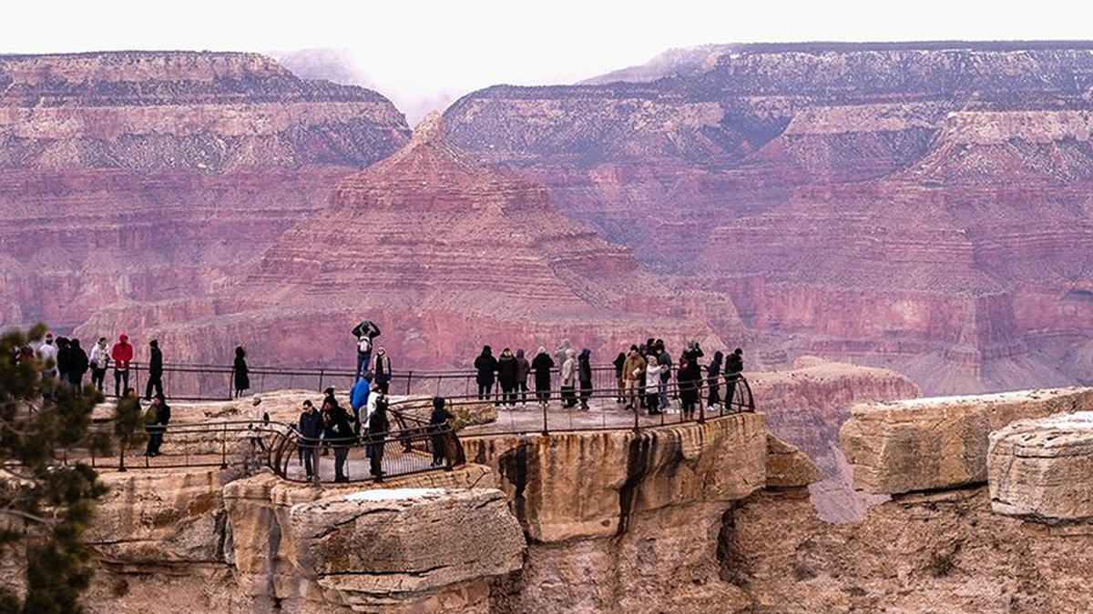More than 6 million people a year visit the Grand Canyon, pumping $1.2 billion into the...