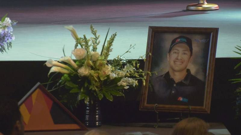 Jacob Dindinger, the EMT shot and killed during a mass shooting in Tucson on January 18, 2021,...