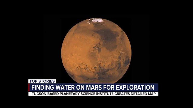 UA research on Mars