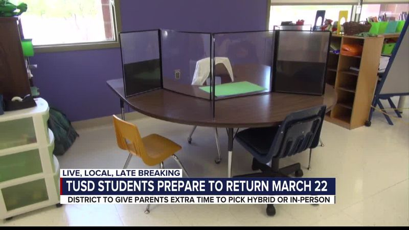 TUSD ready to return to in-person learning
