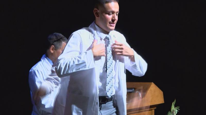 Formerly homeless UA grad is now one step closer to his dream. (Source: Tucson News Now)