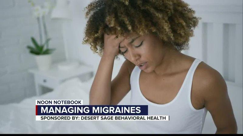 KOLD Noon Notebook: Managing migraines