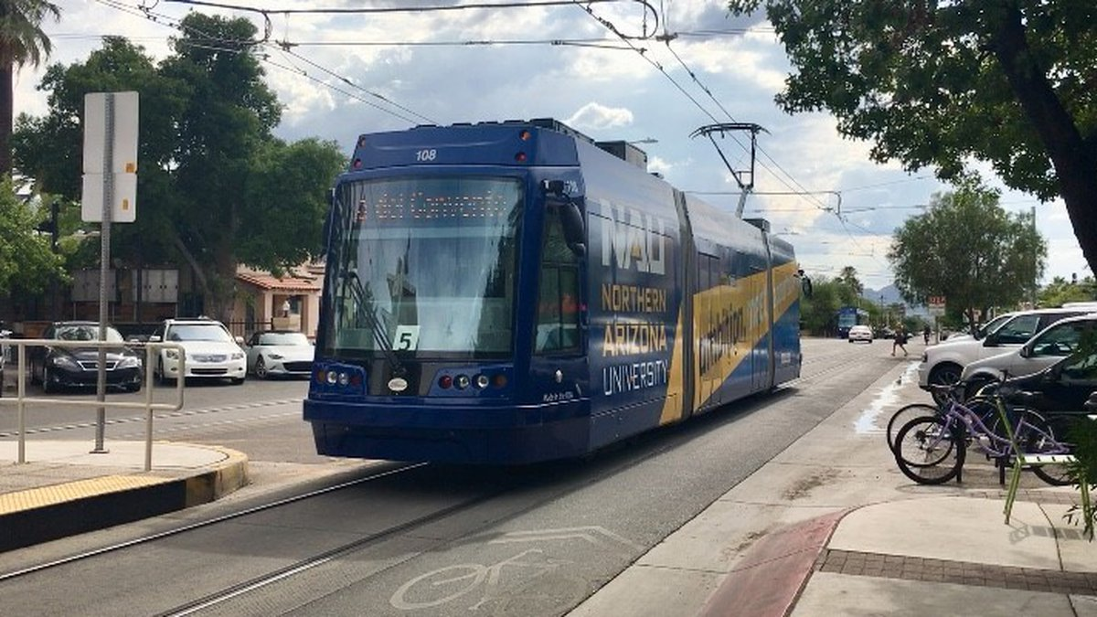 The Sun Link streetcar is celebrating five years of service with free rides Saturday, July 27,...