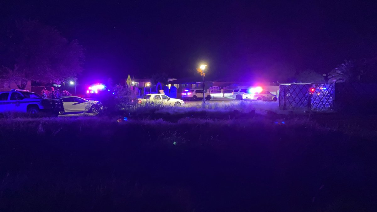 Deputies are looking for a suspect or suspects from a Thursday night shooting.