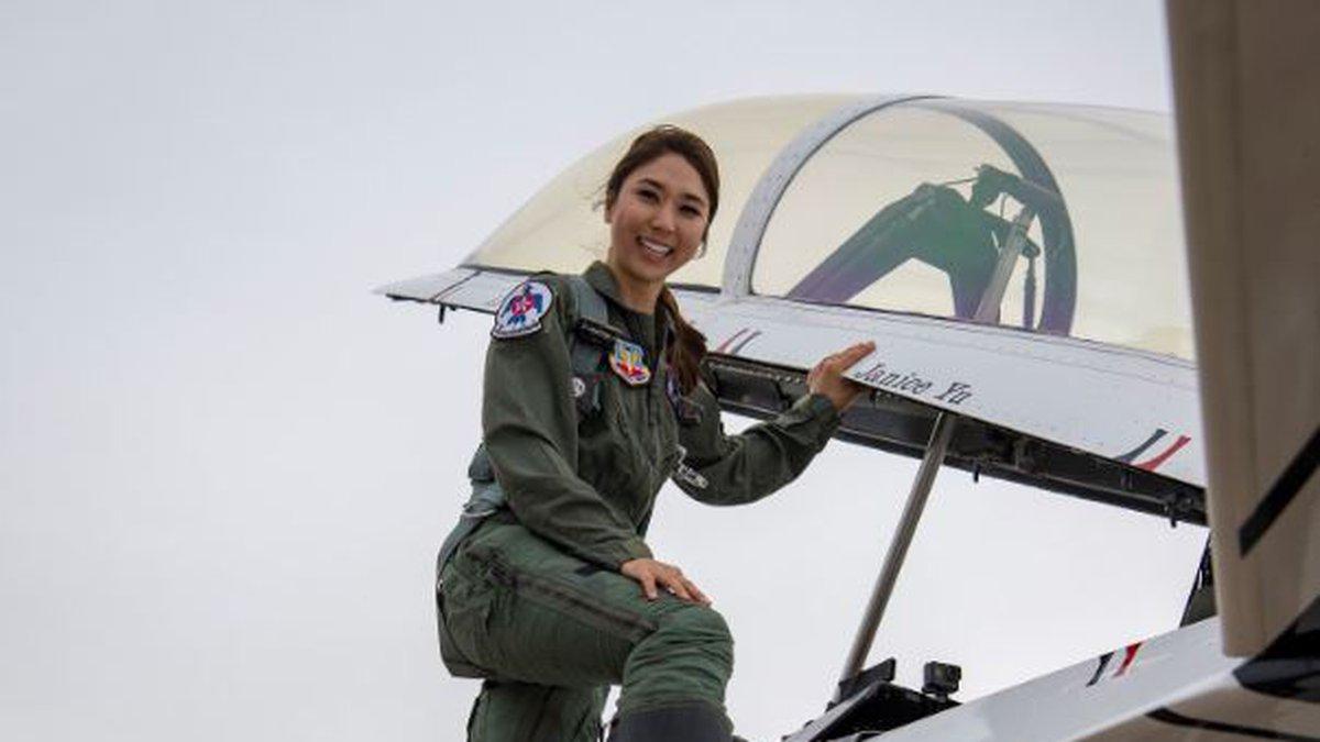 Janice Yu (Source: USAF Thunderbirds)