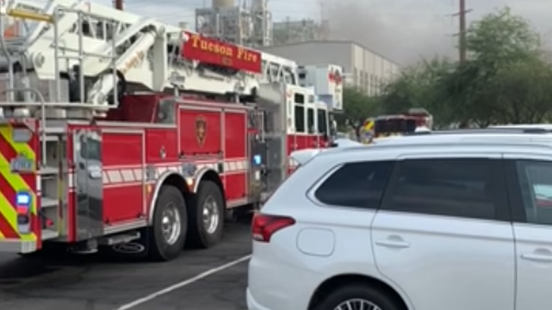 A fire at the TEP facility on Irvington Road left thousands without power in Tucson on...