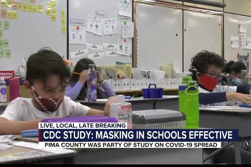New CDC study shows effectiveness of mask mandates days before AZ law banning mask mandate...
