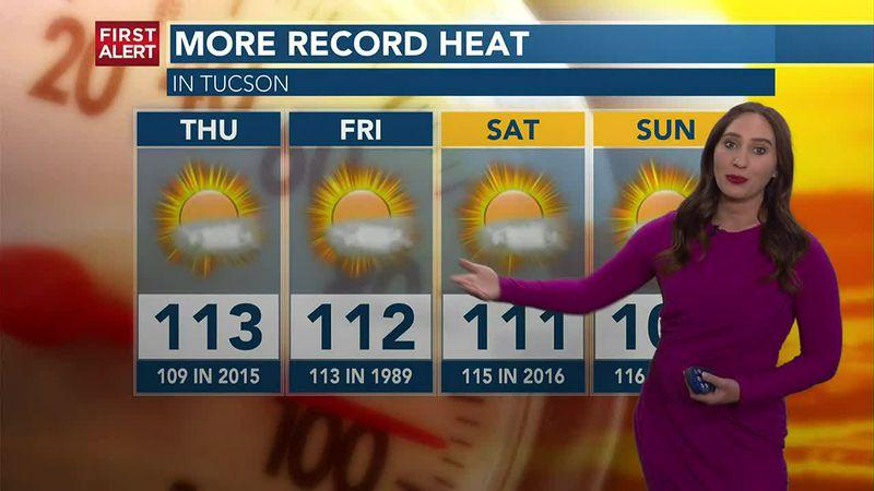 KOLD First Alert forecast, Thursday afternoon, June 17