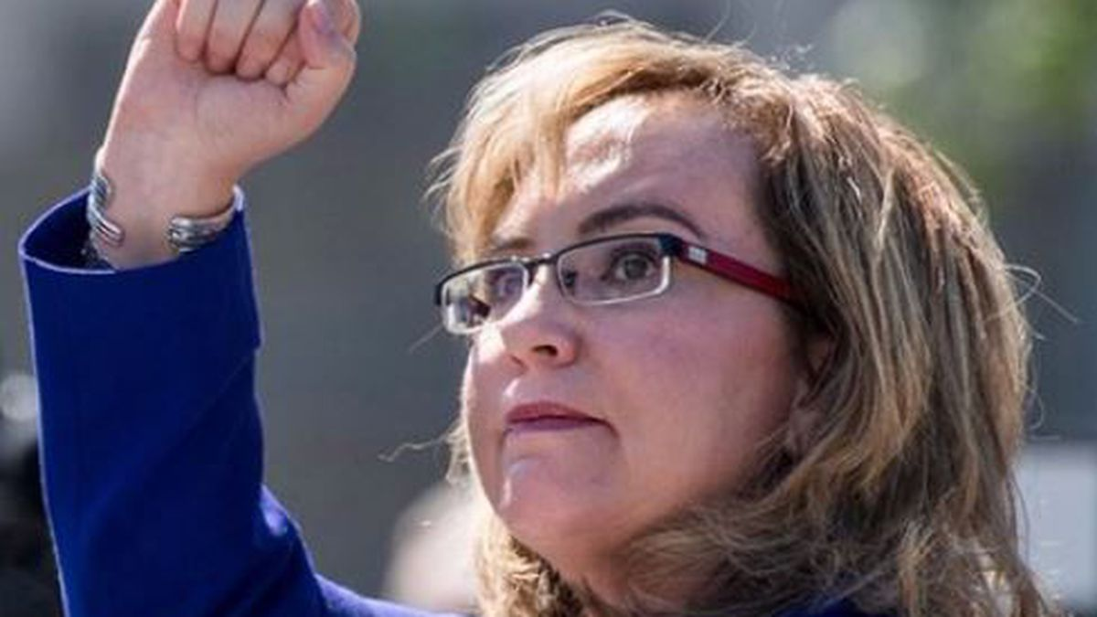 Former congresswoman Gabby Giffords issued a news release Tuesday, hours after a fatal school...