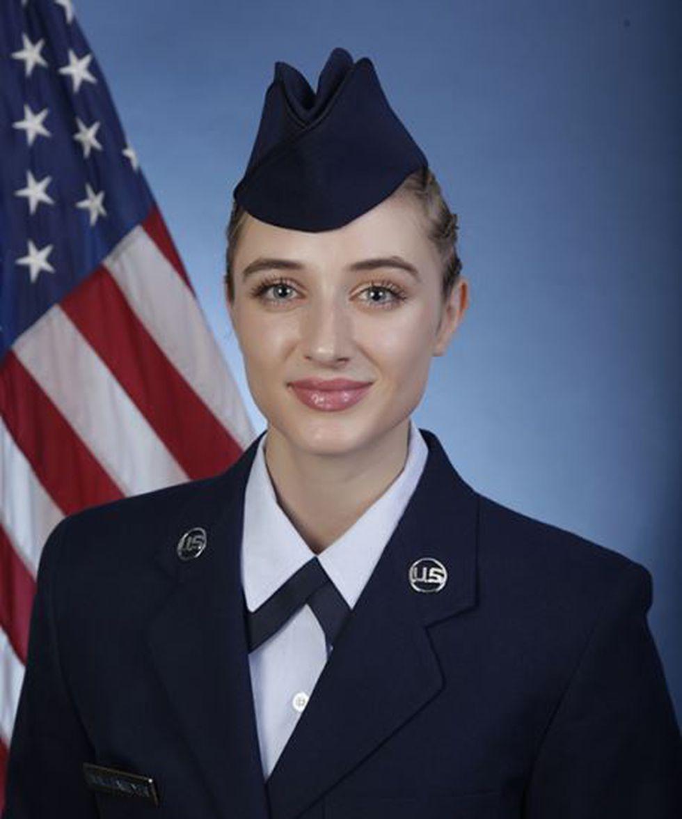 U.S. Air Force Airman 1st Class Sara Wallenmeyer (Source: U.S. Air Force)