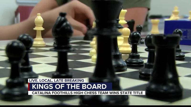 CFHS chess team wins state title, places nationally