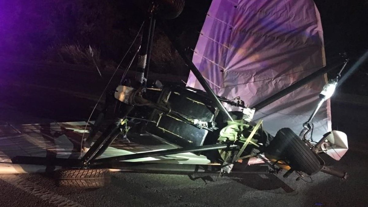 CBP seized the ultralight attempting to enter the U.S and arrested the Mexican national pilot.