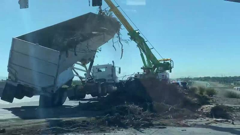 Tractor-trailer crash, Sept. 20