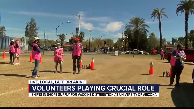 volunteers play a crucial role