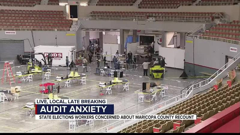 State elections workers are concerned about the Maricopa County recount