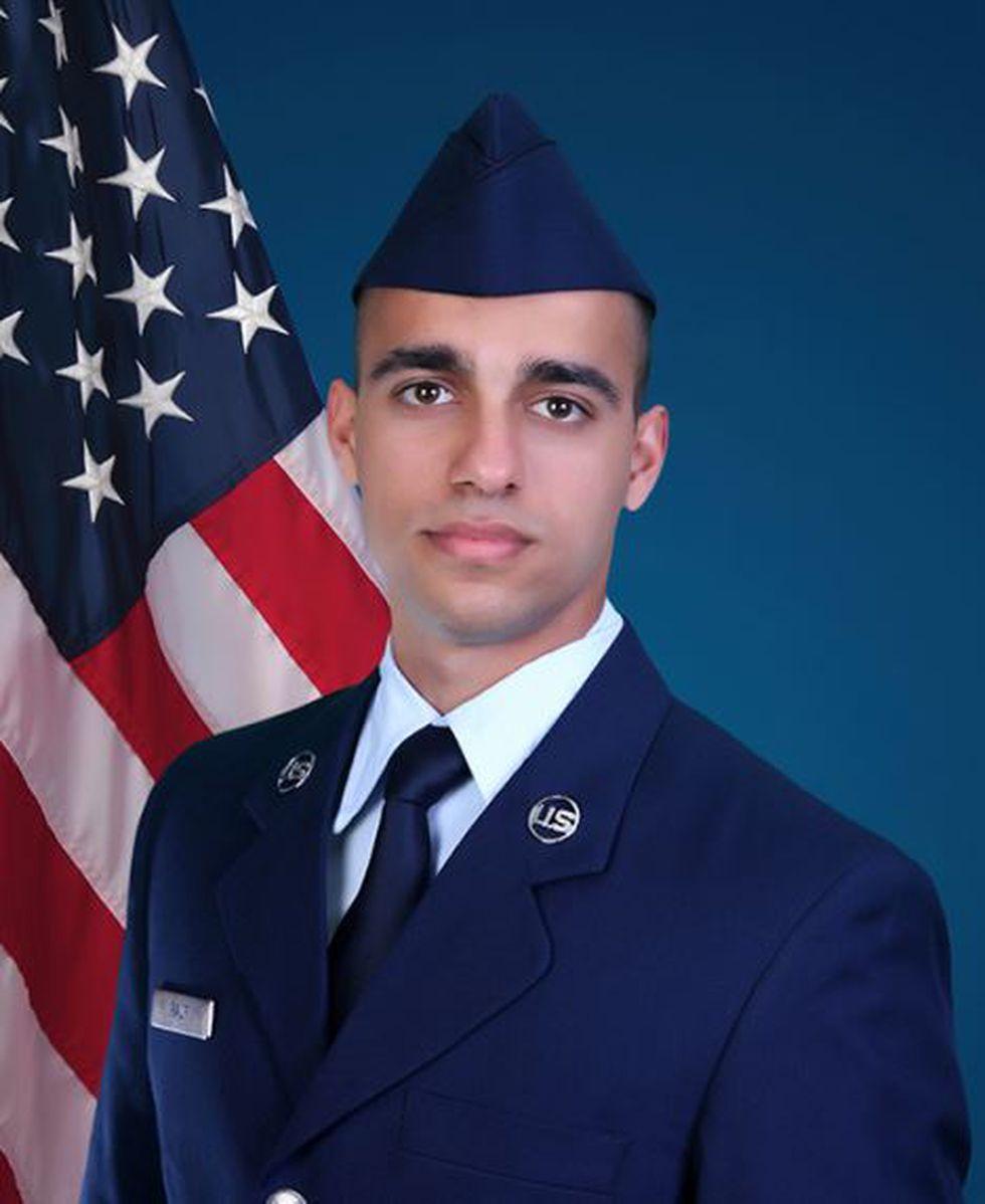 U.S. Air Force Airman Isfhan Rauf  (Source: U.S. Air Force)