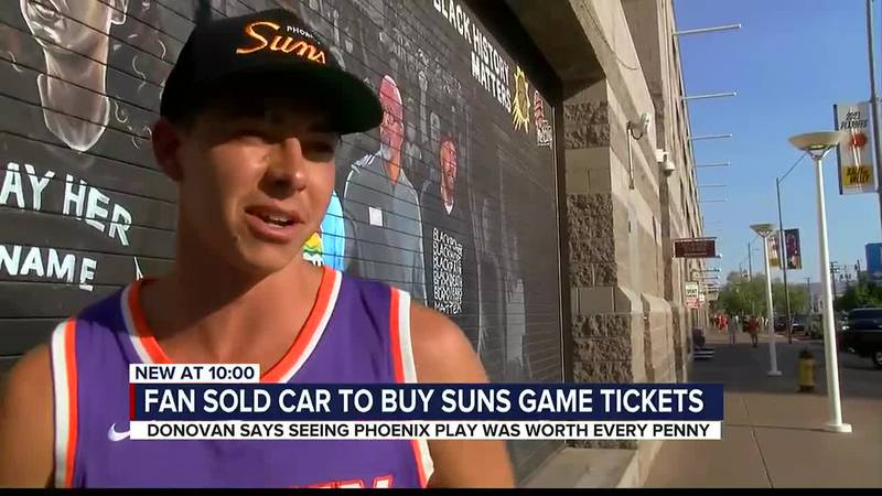 suns fan sells car for finals tickets