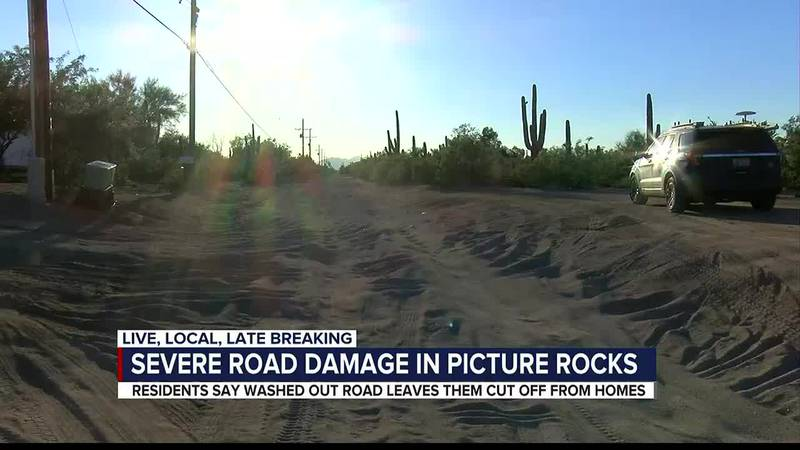 Picture Rocks residents look to the county for help with dangerous road conditions