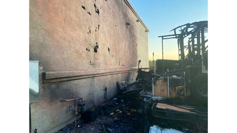 Northwest Fire responded to a motorhome fire on Friday, May 14, 2021. One person was treated at...
