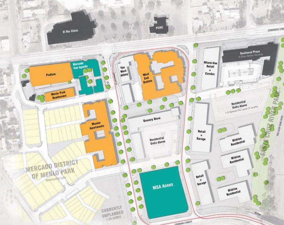 Mercado district (Source: Mercado San Agustin)