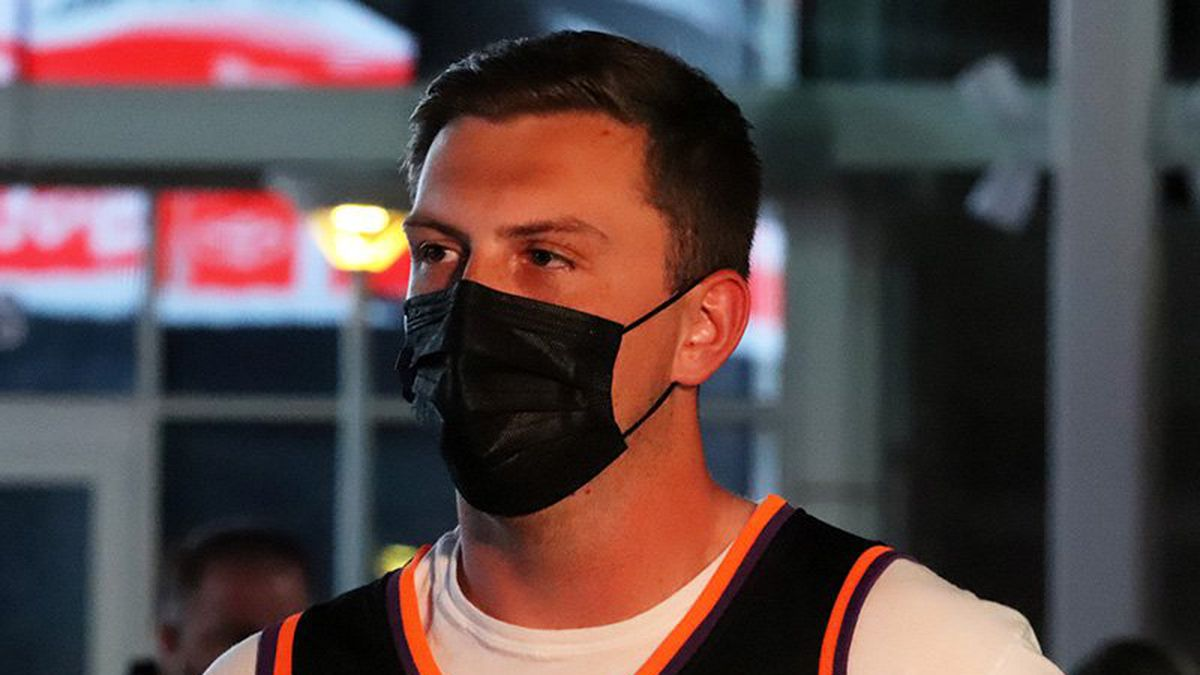 Corey Kruger is happy Phoenix Suns fans are allowed at home games again and believes Chris Paul...