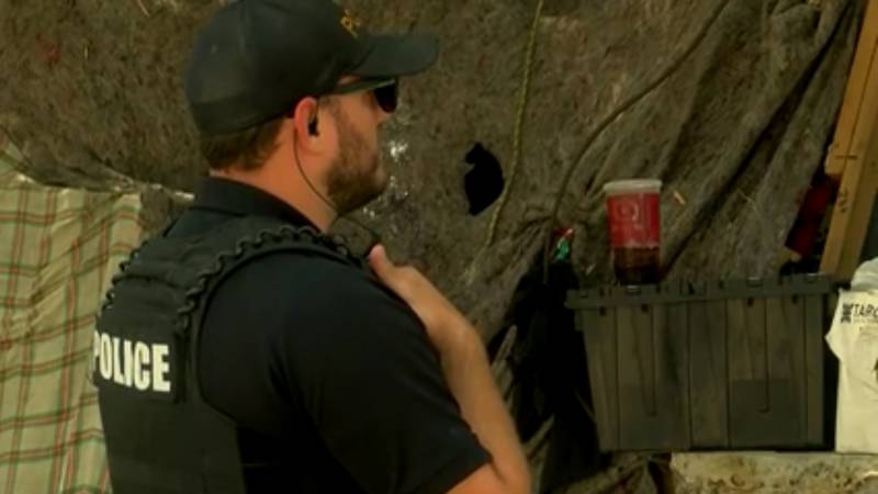 Tucson Police's Homeless Outreach Team working to keep population out of washes and tunnels...