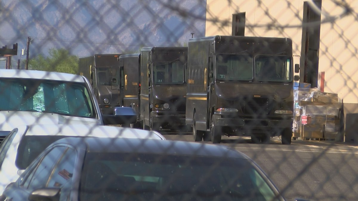 Teamsters Local 104 says UPS employees are dealing with an increase in shipments, staffing...