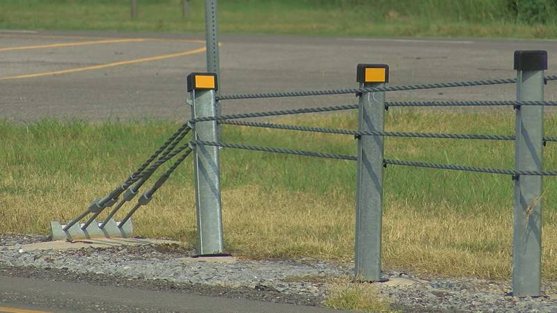 More cable barriers to be added to highways in SWOK (SOURCE: KSWO)