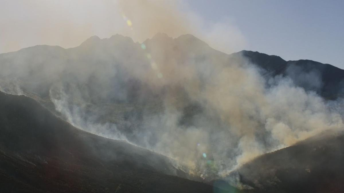The Bush Fire is burning in the Tonto National Forest.