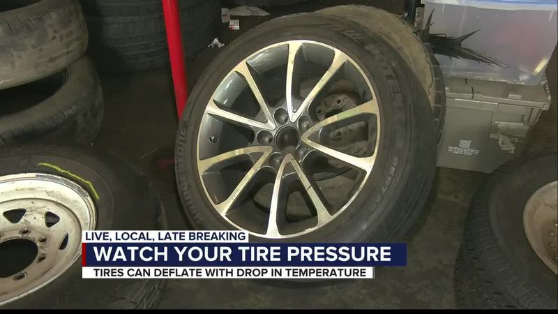 Low tires from the cold can lead to more than just a flat