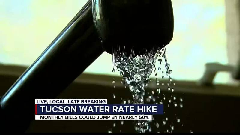 INCREASED WATER RATES TOWN HALL