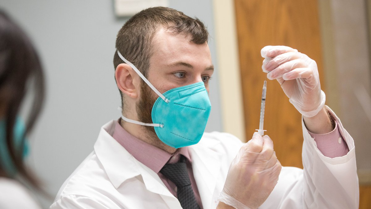 CVS Health Vaccine Efforts at The Reservoir long term care facility on Friday, Dec. 18, 2020,...