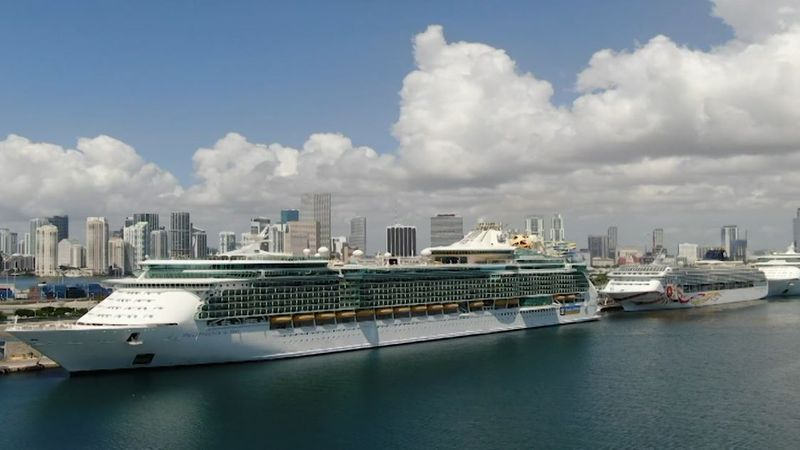 The CDC says the chance of getting coronavirus is still high on a cruise ship because the virus...