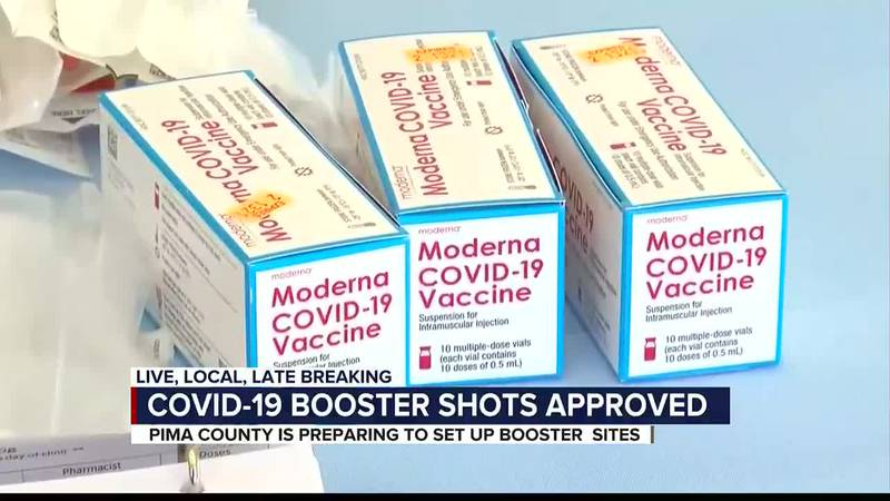 COVID-19 booster shots approved