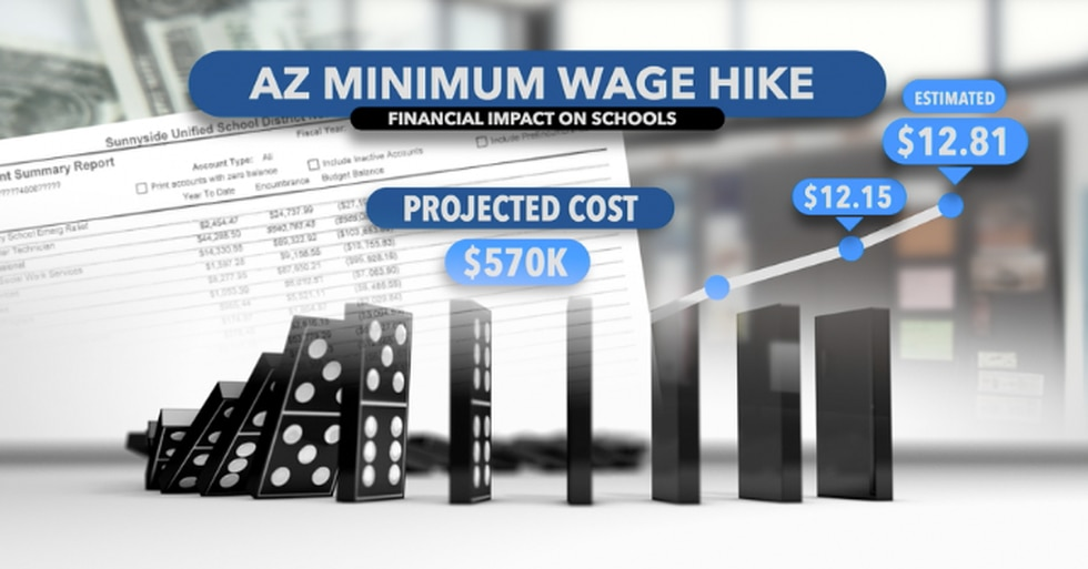 Sunnyside district estimates how much the wage hike will cost.